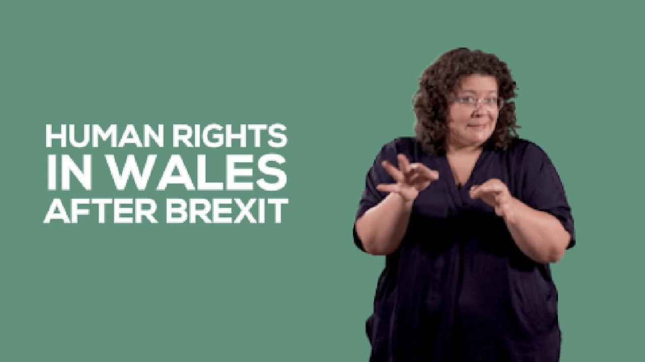 Hawliau dynol yng Nghymru wedi Brexit