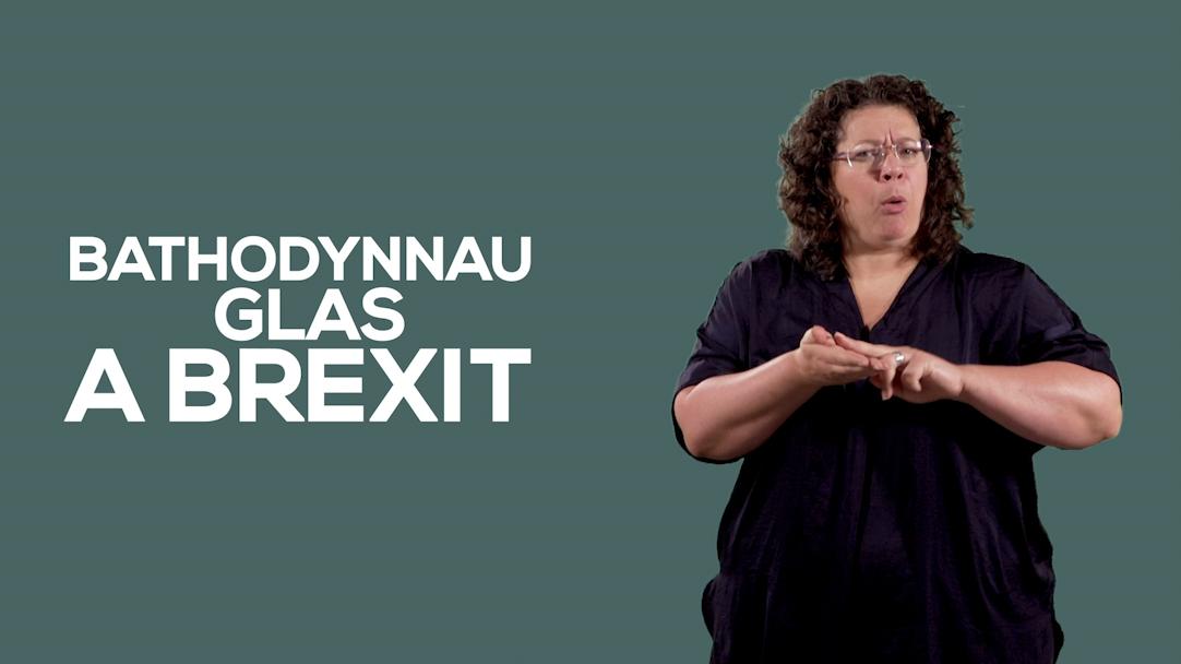 Bathodynnau Glas A Brexit