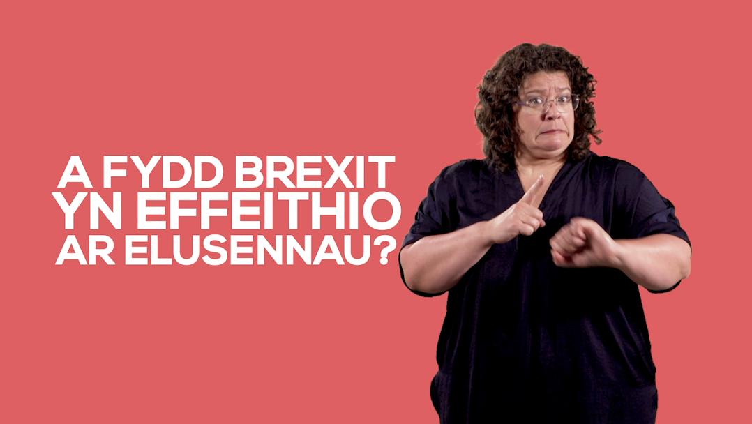 A fydd Brexit yn effeithio ar elusennau?